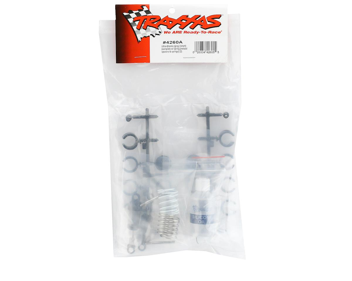 Traxxas Ultra Shocks (Short) (Gray) (2)