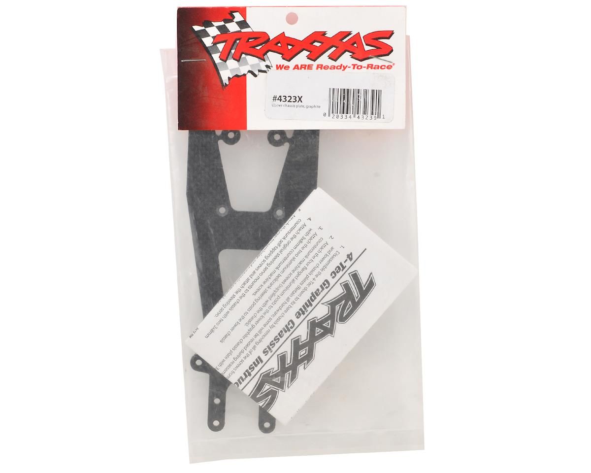 Traxxas Graphite Upper Chassis Plate