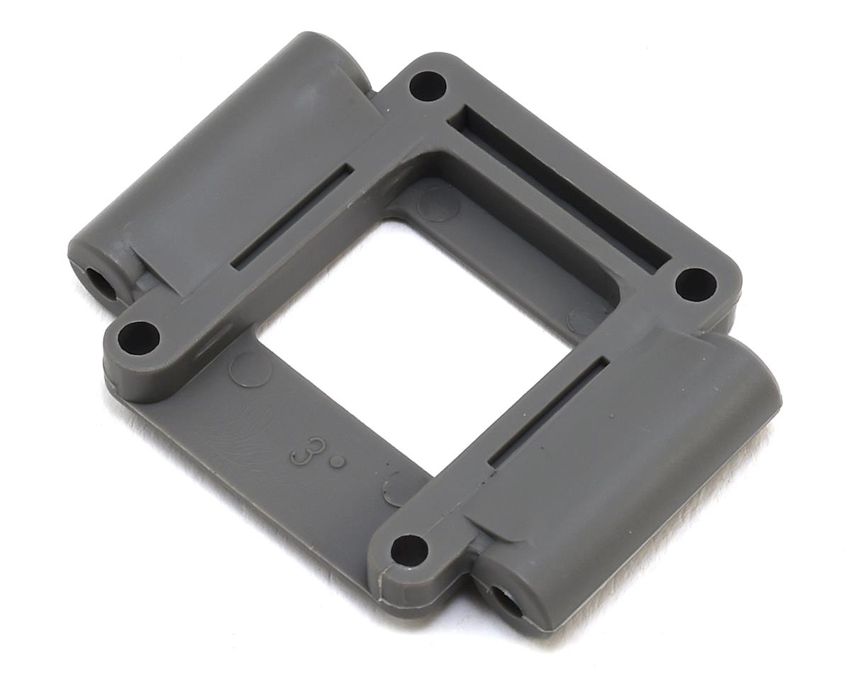 Lower Suspension Mount (3°) (Grey) by Traxxas