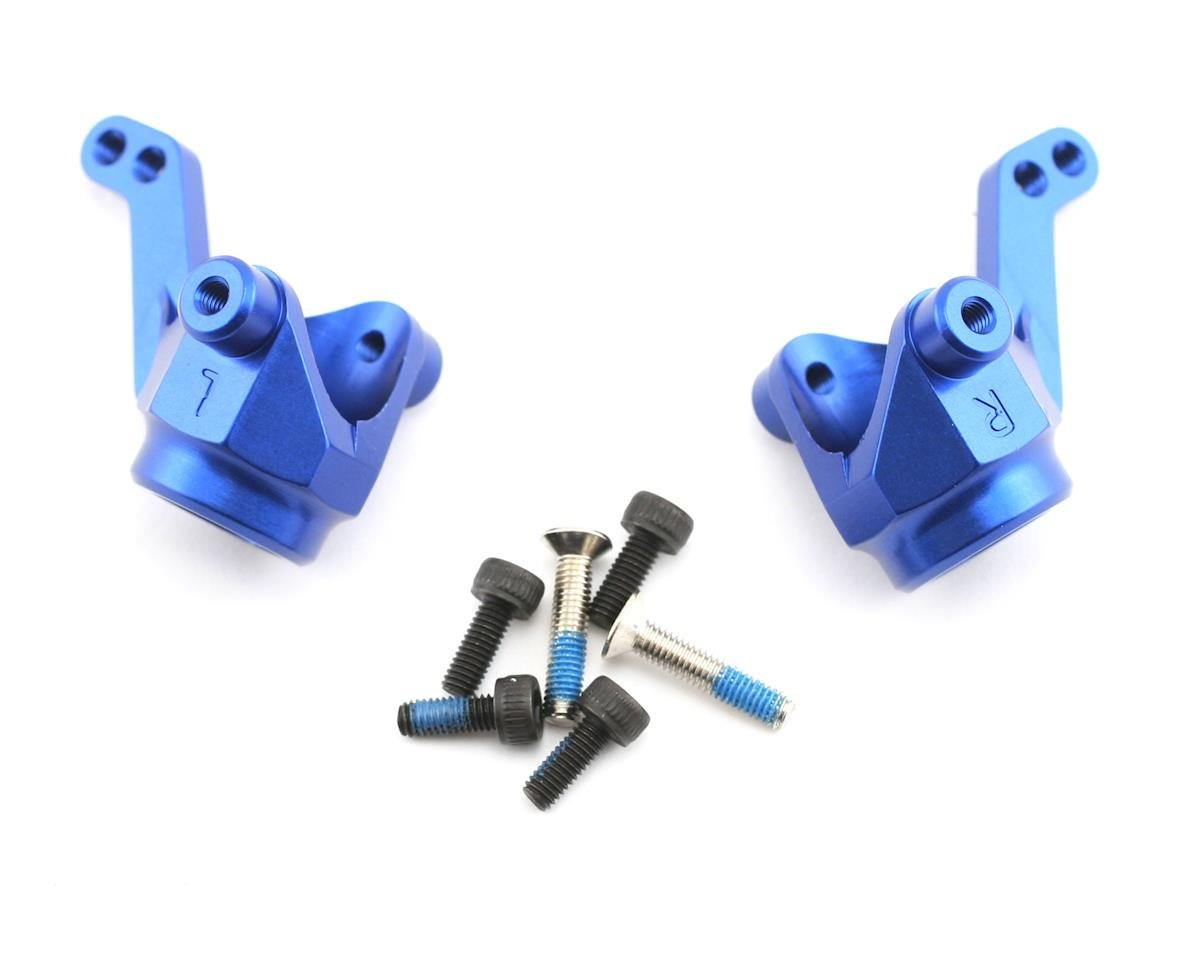 Traxxas Nitro 4-Tec Aluminum Steering Block/Axle Housing (Blue)