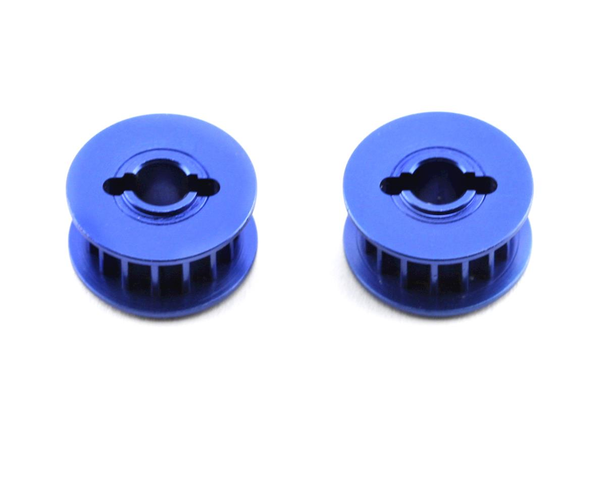 Aluminum 15-groove Pulley (Blue) (2) by Traxxas