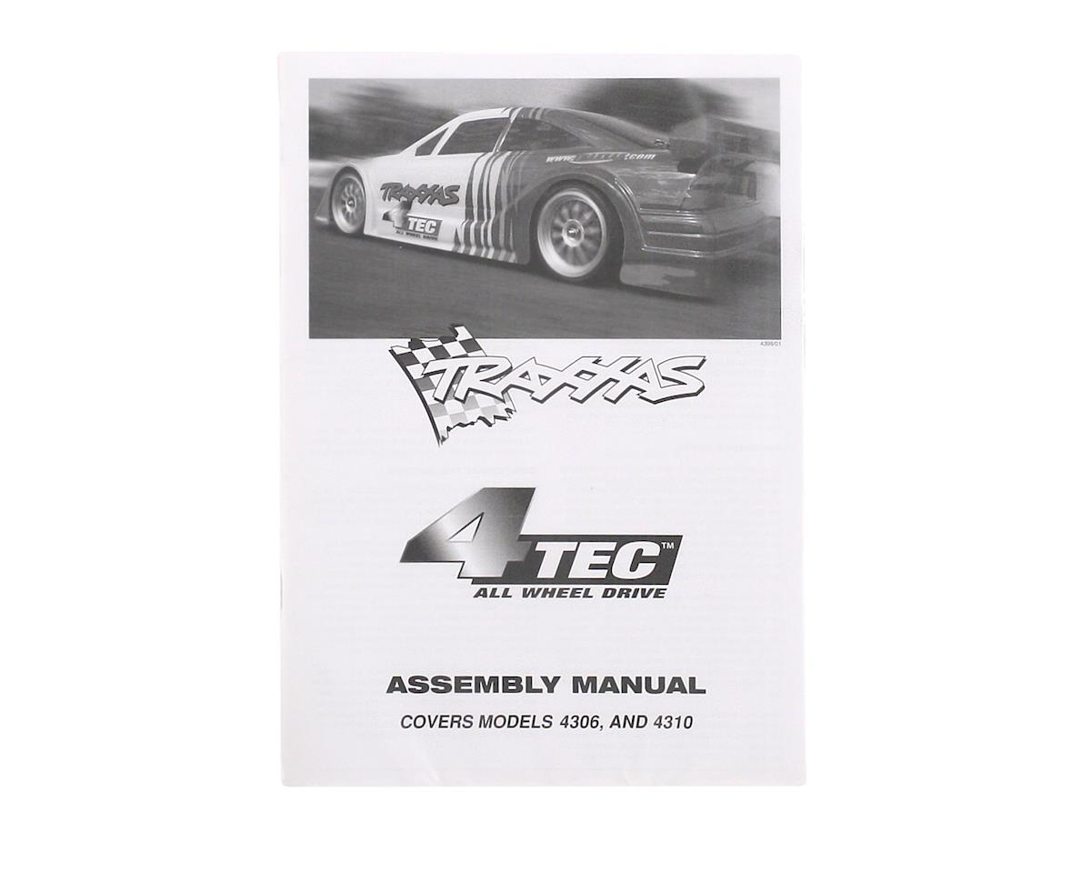 Traxxas Owners Manual (4-Tec)