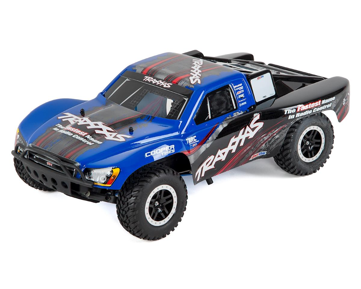 Nitro Slash 3.3 1/10 2WD RTR SC Truck (Blue) by Traxxas