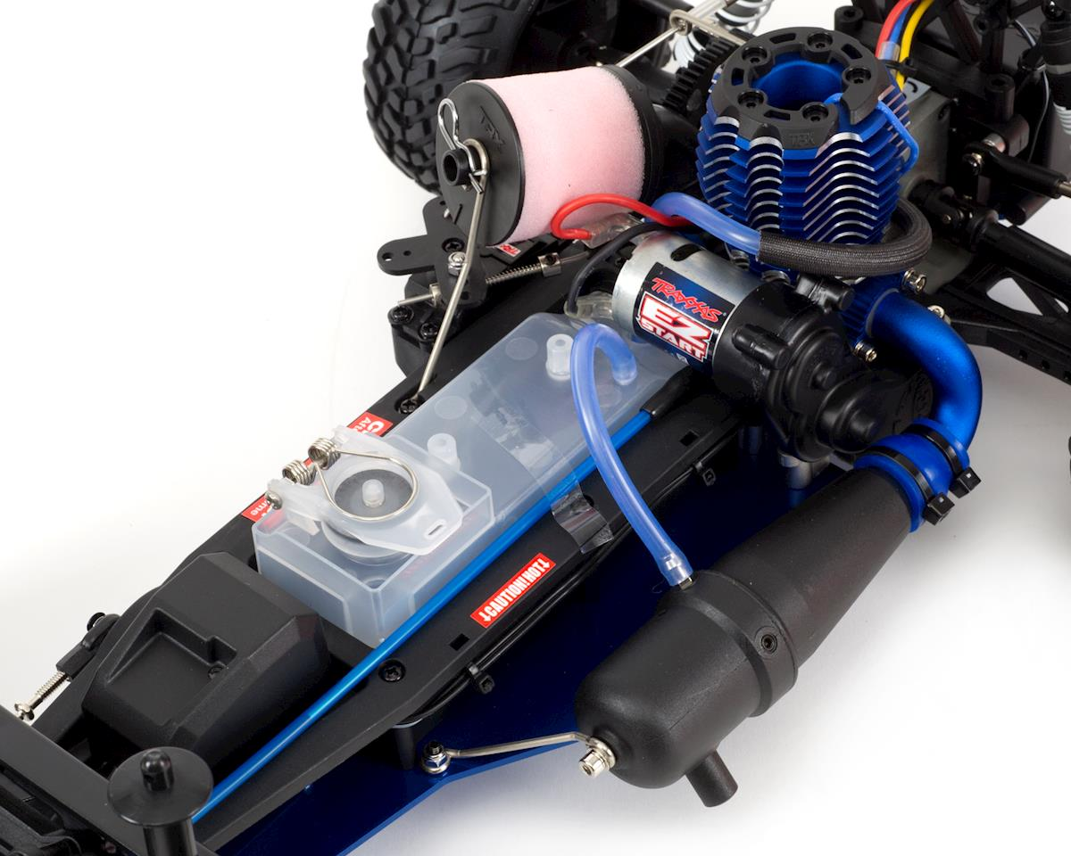 Traxxas Nitro Slash 3.3 1/10 2WD RTR SC Truck (Blue)