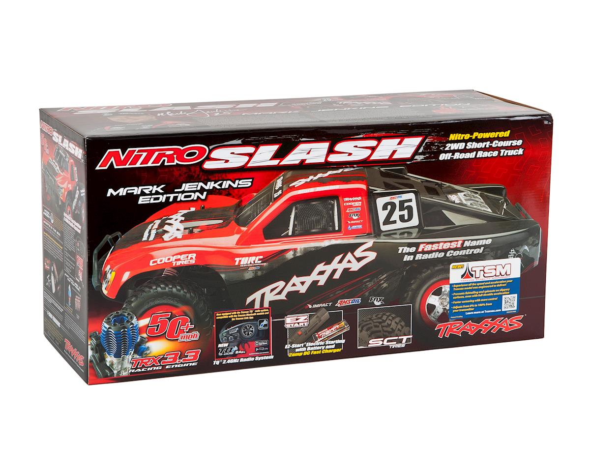 Traxxas Nitro Slash 3.3 1/10 2WD RTR SC Truck (Chad Hord)