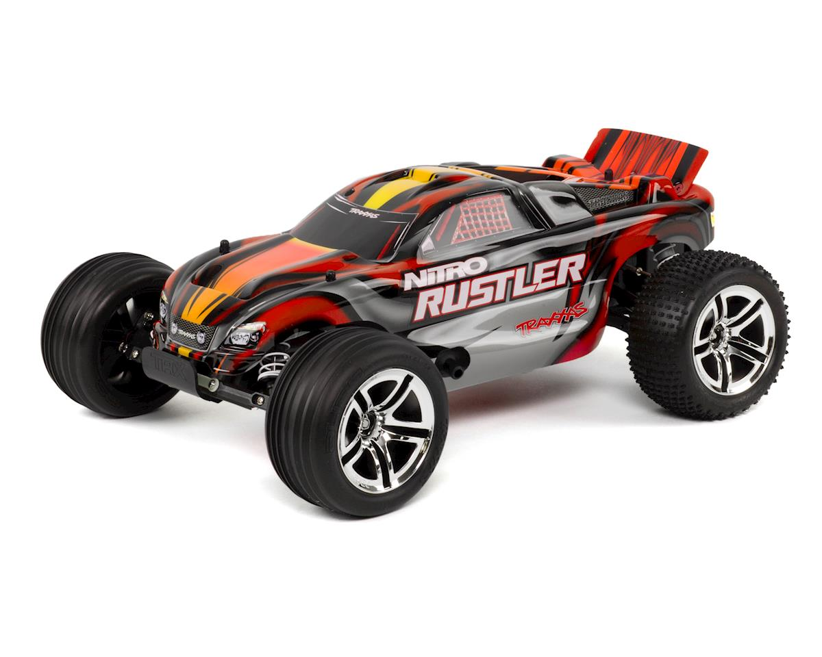 Nitro Rustler 1/10 RTR Stadium Truck (Red) by Traxxas