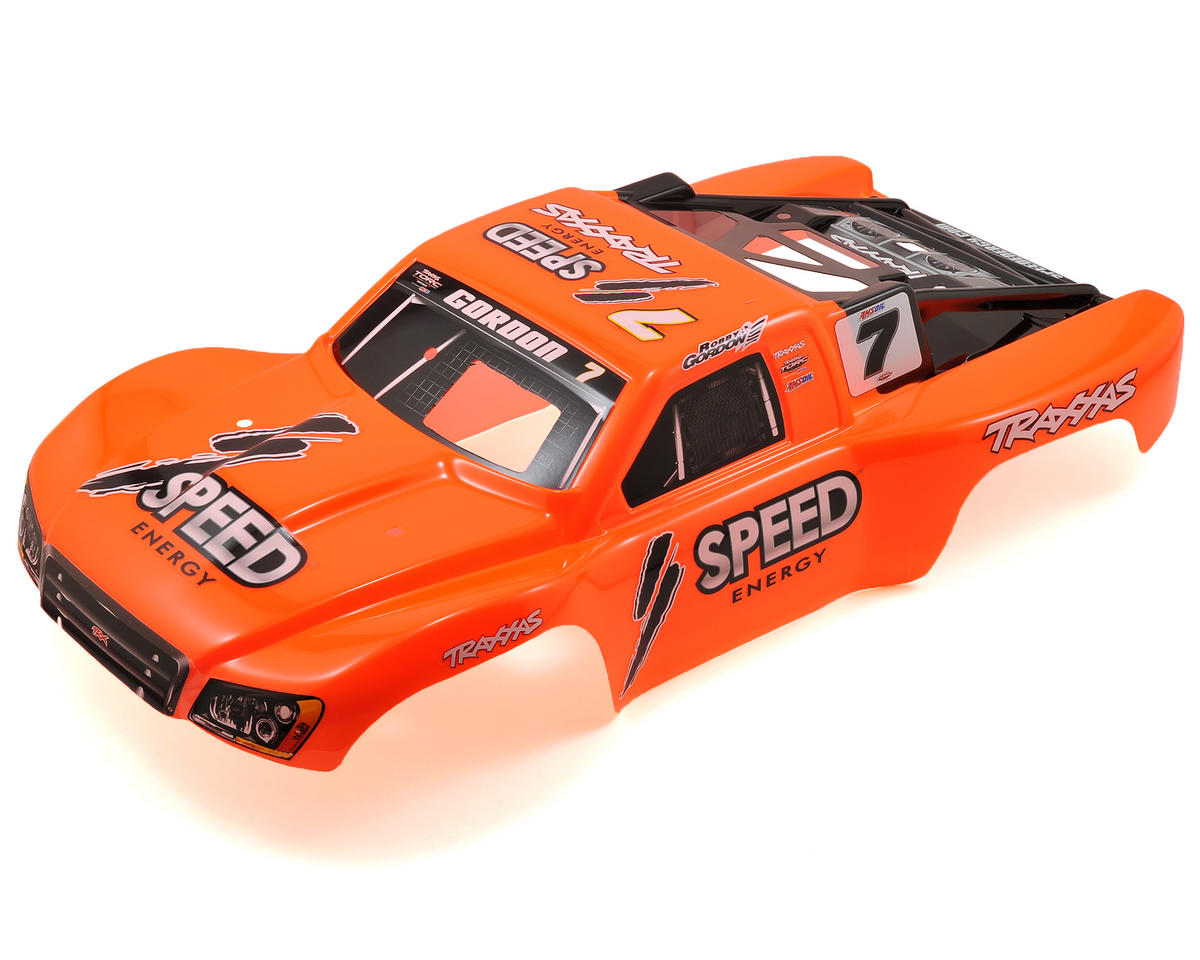#7 Robby Gordon Painted Body (Nitro Slash) by Traxxas