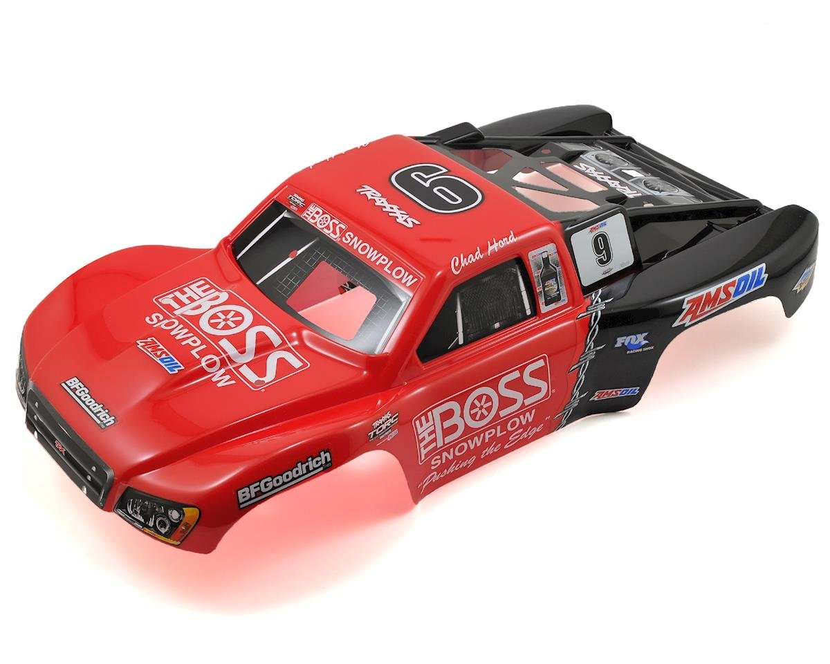 #9 Chad Hord Painted Body (Nitro Slash) by Traxxas