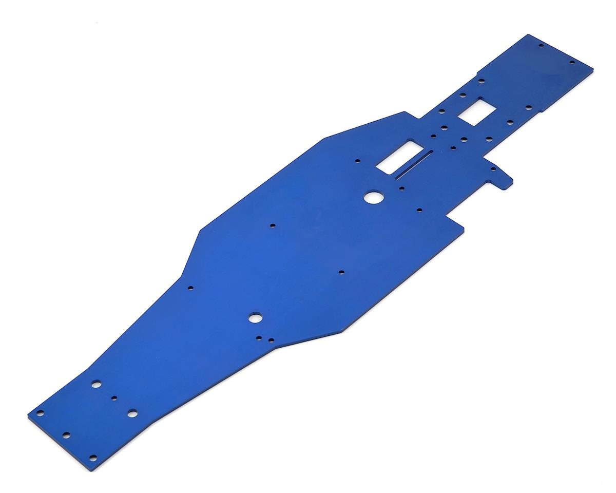 Aluminum Lower Chassis (Blue) by Traxxas