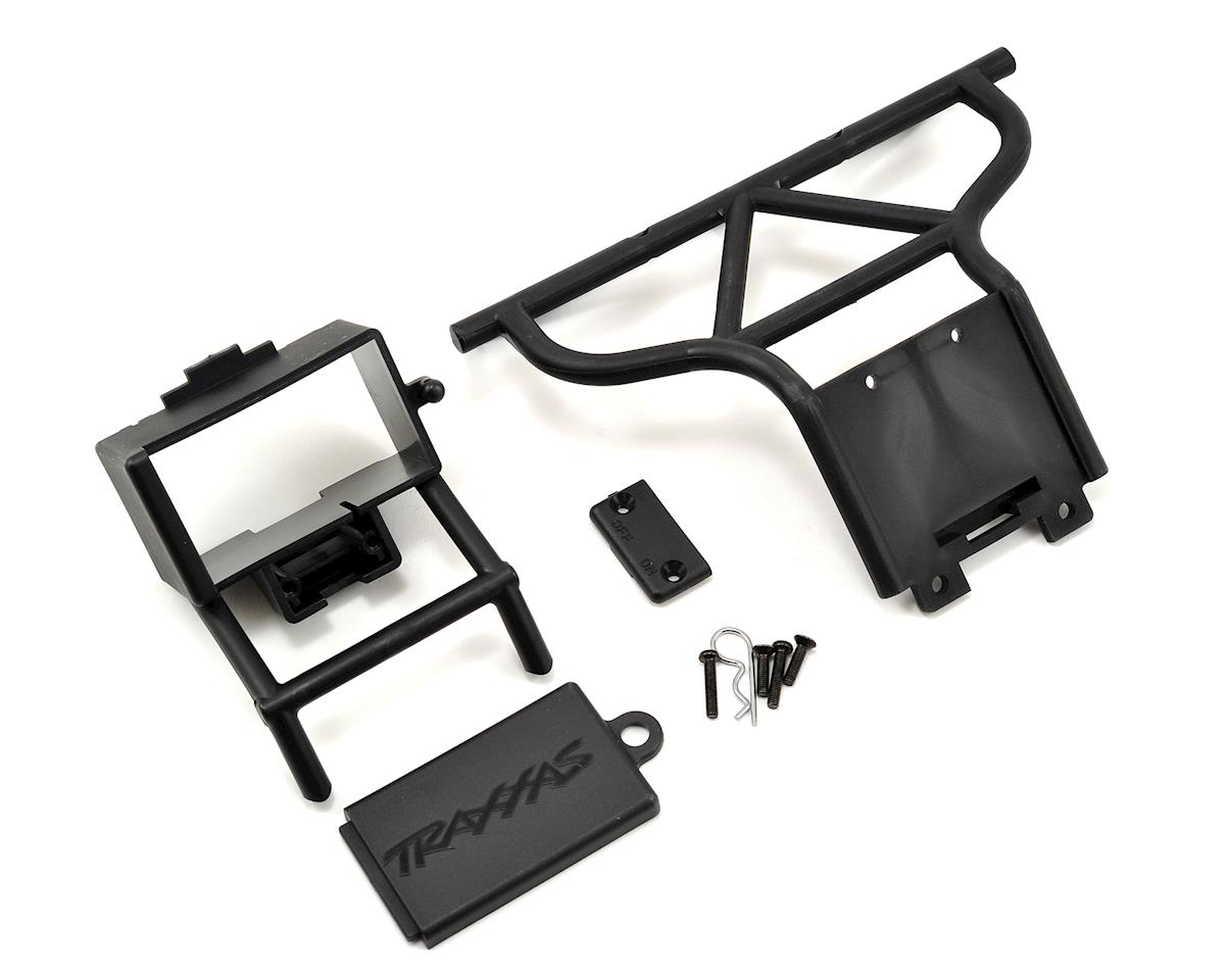 Traxxas Rear Bumper & Battery Box Set