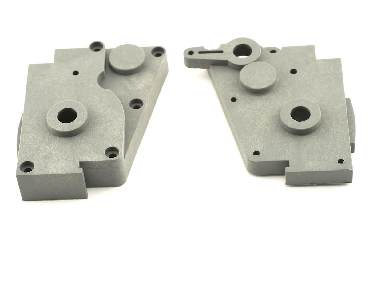 Gear Box L/R Halves (Grey) by Traxxas