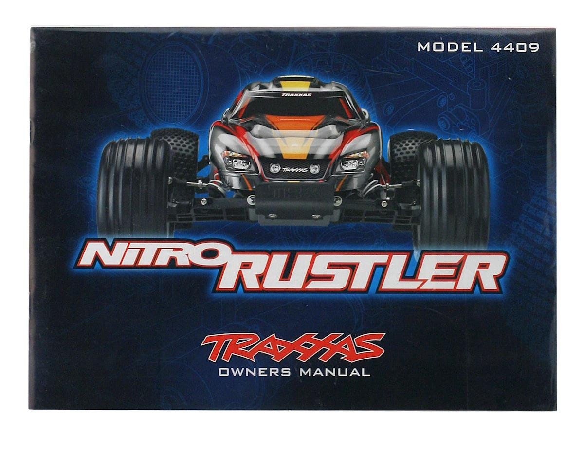 Traxxas Owners Manual (Nitro Rustler)
