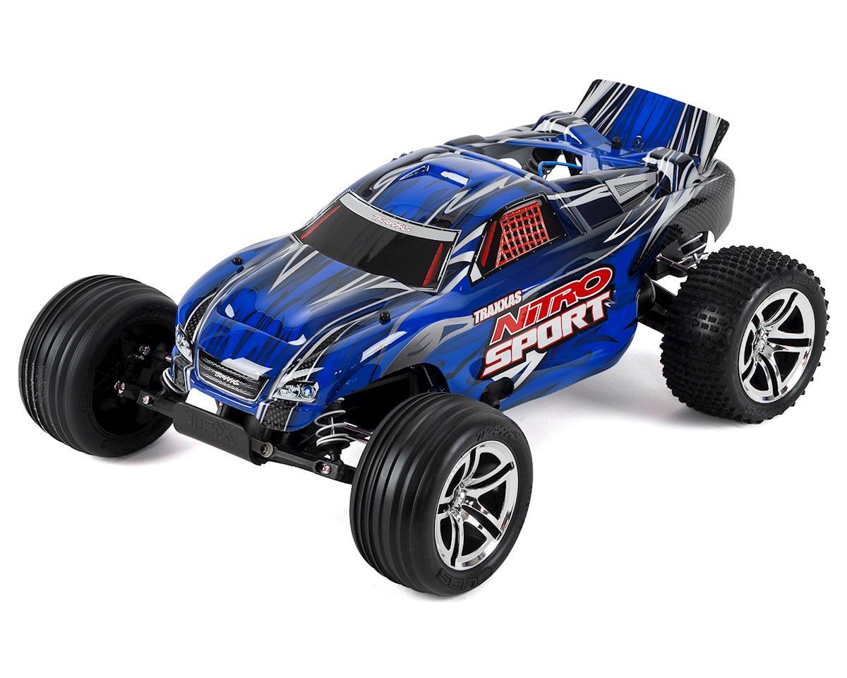 Traxxas Nitro Sport 1/10 RTR Stadium Truck (Blue)