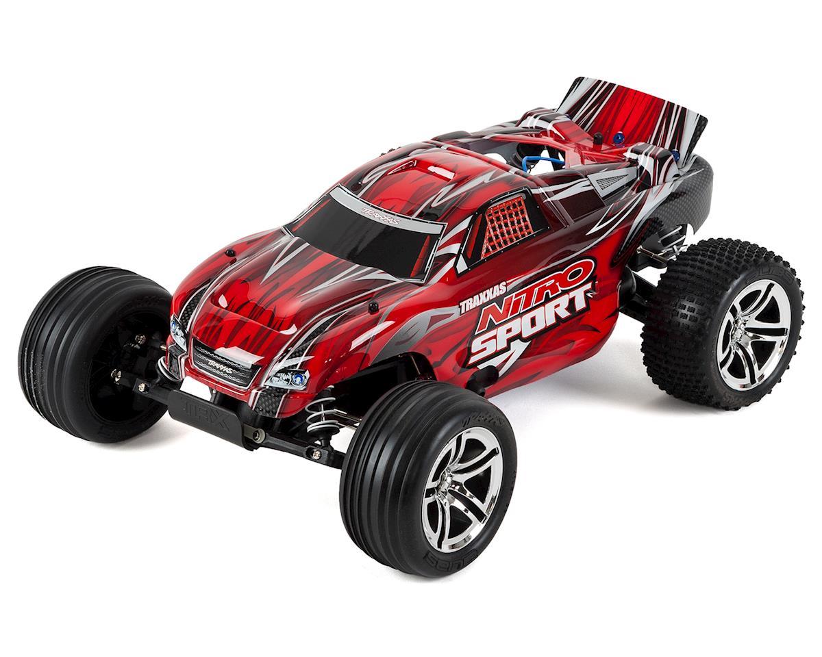 Traxxas Nitro Sport 1/10 RTR Stadium Truck (Red)