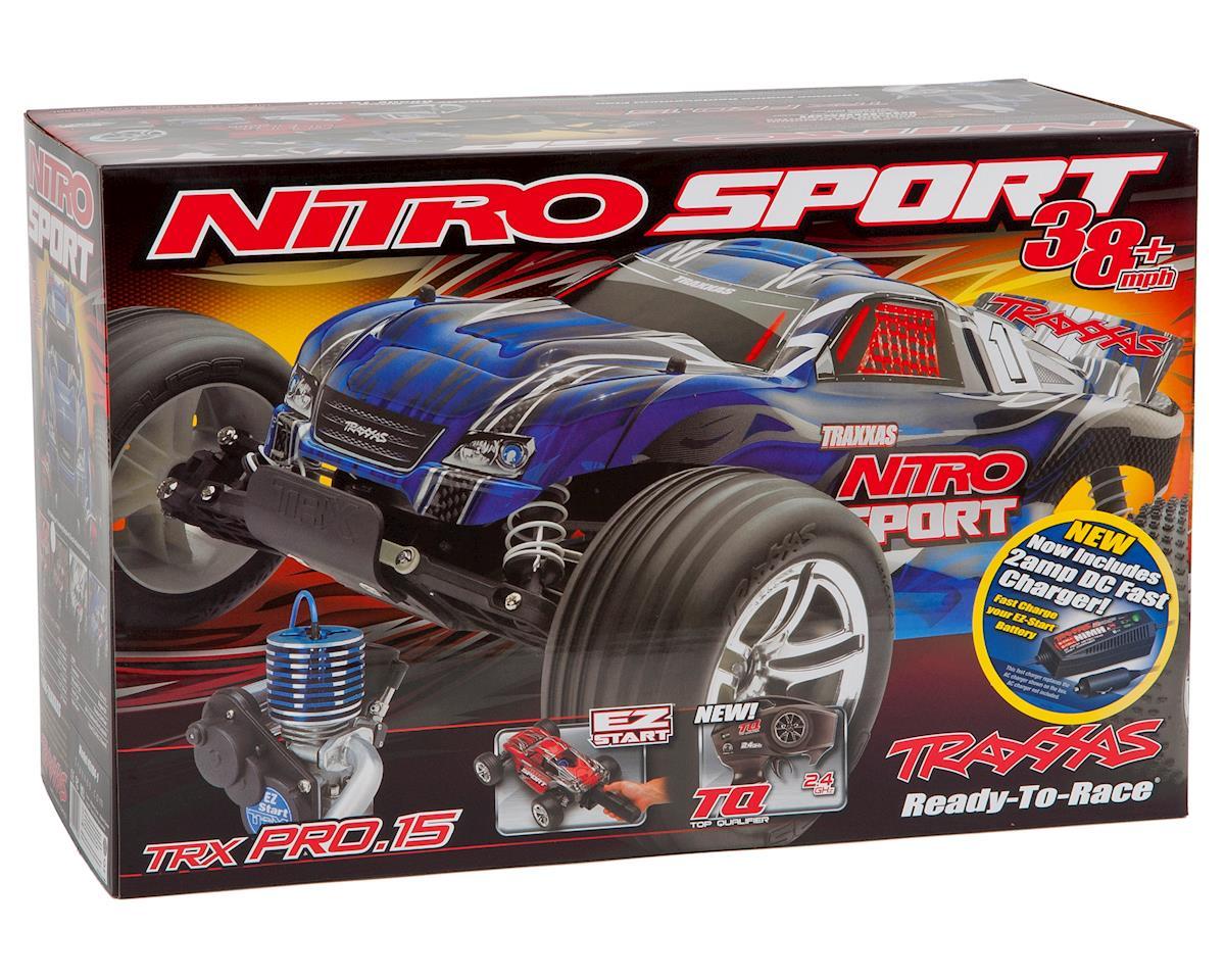 Traxxas Nitro Sport 1/10 RTR Stadium Truck (Silver)