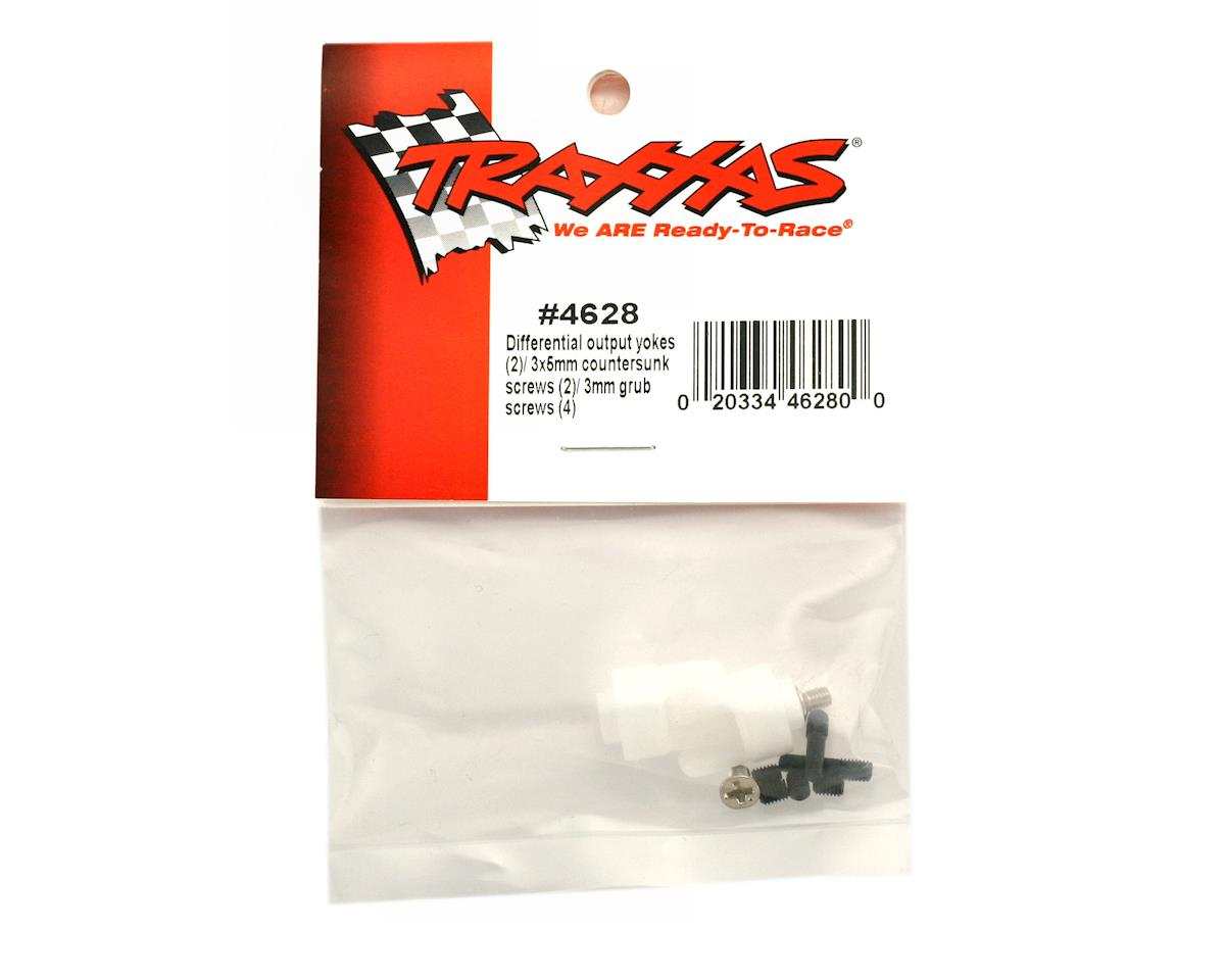 Traxxas Drive Yokes with Screws (2)