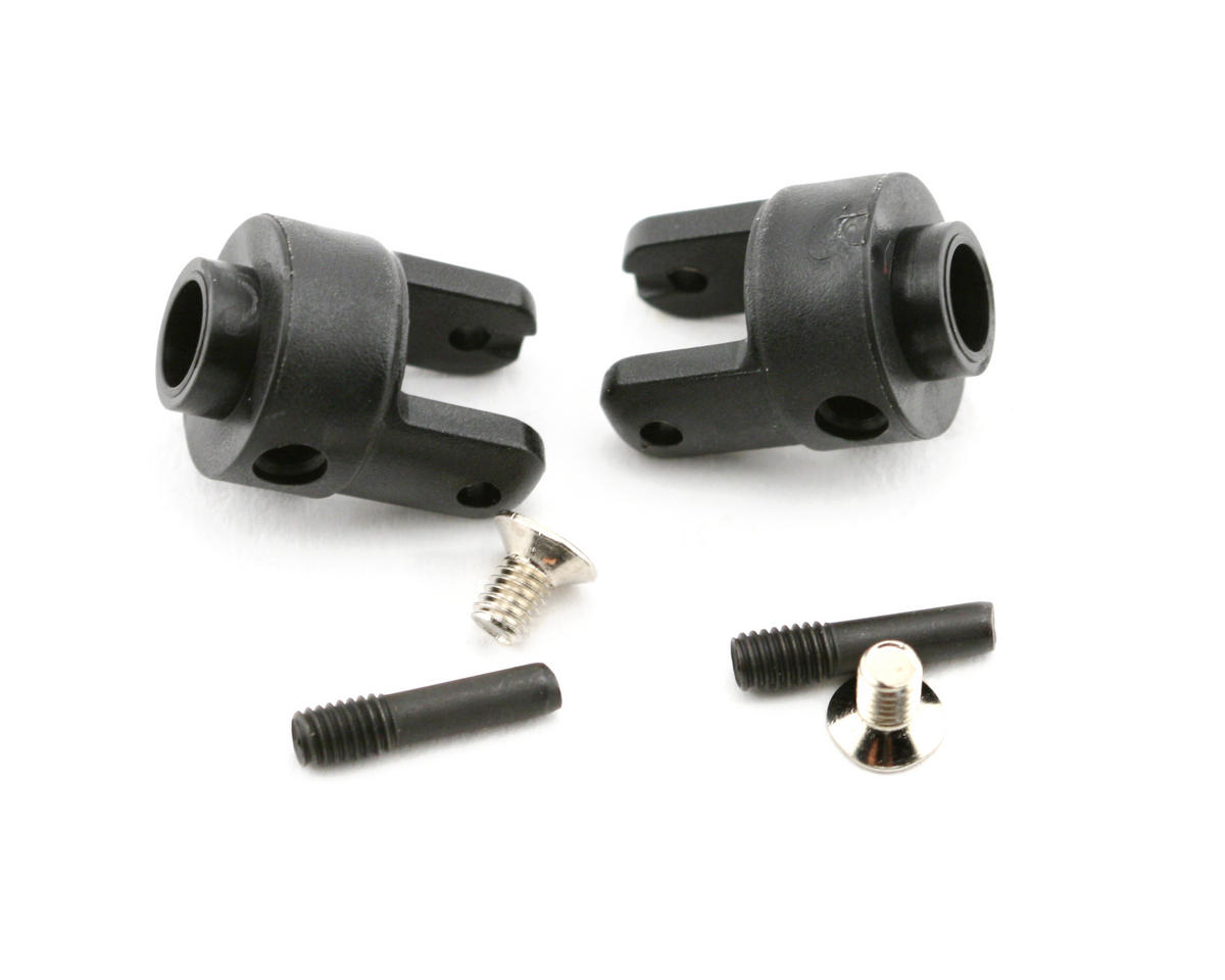 Traxxas Differential Output Yokes (Black) (VXL) (2)