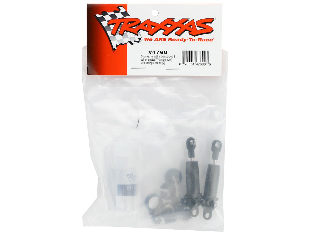 Traxxas Hard Anodized Teflon Coated Shocks (Long) (2)
