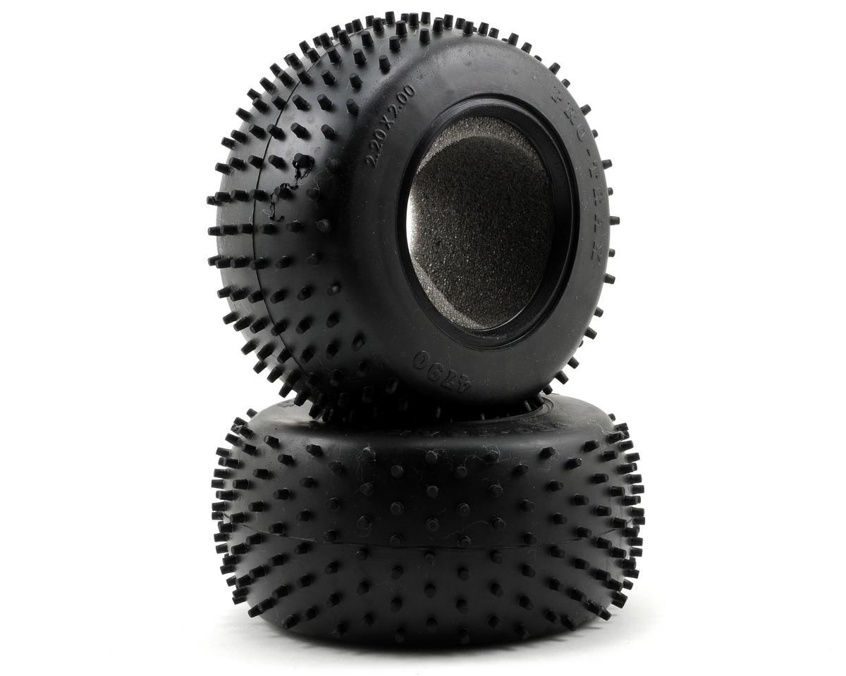Pro-Trax Rear Tires w/Foam Inserts (2) (Standard) by Traxxas