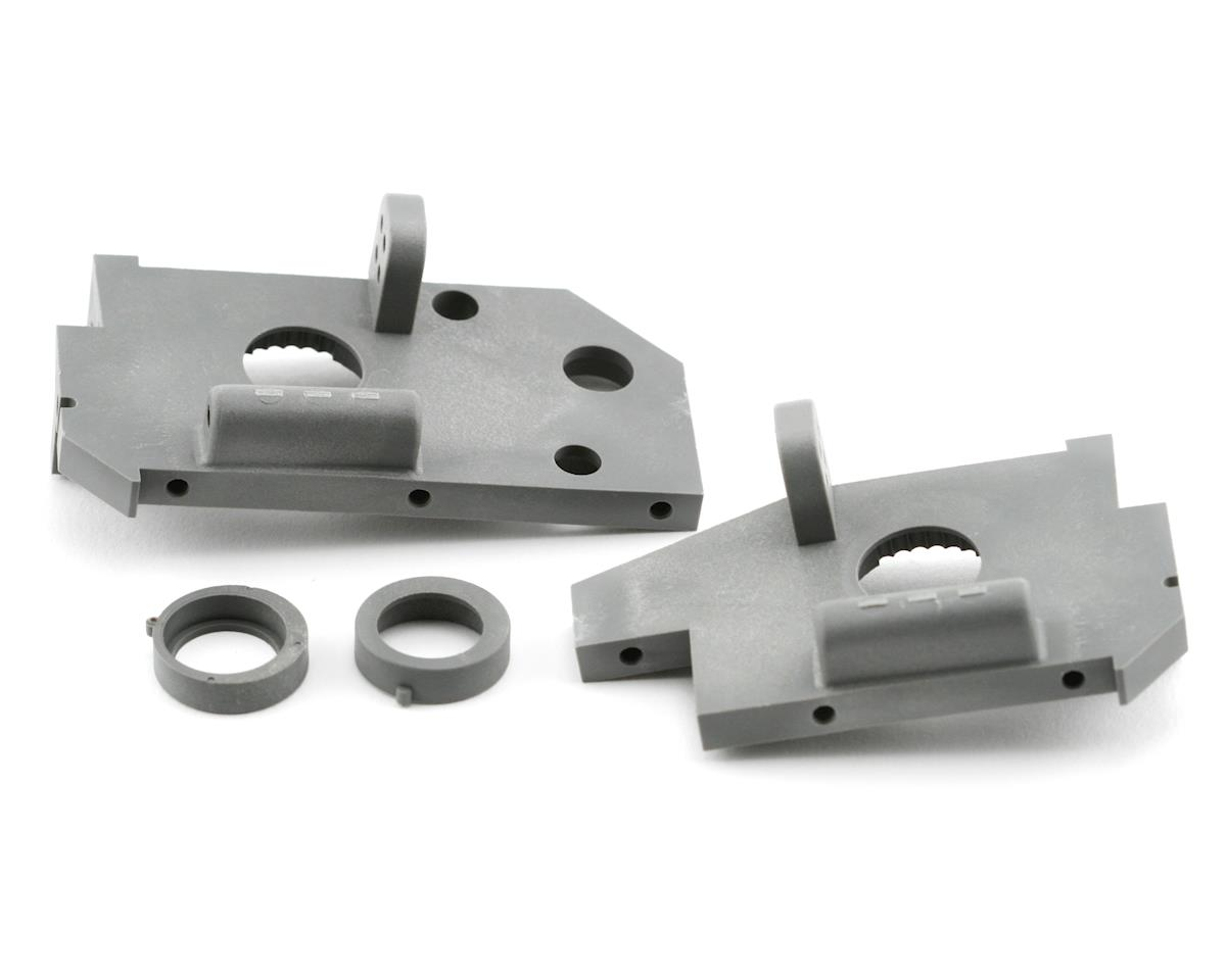 Traxxas Rear Side Plate (Grey) (2) (Nitro 4-Tec 3.3)