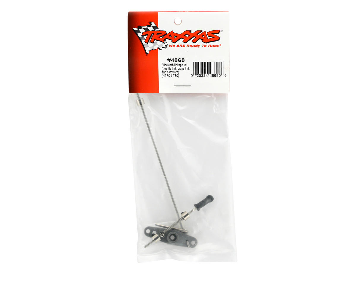 Traxxas Slide Carburetor Linkage Set (Nitro 4-Tec)