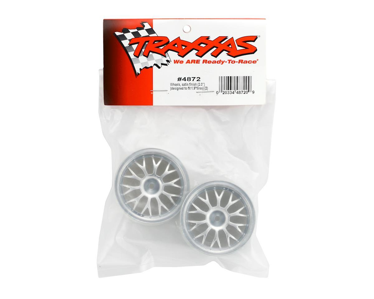 """Traxxas 2.0"""" TC Wheel (Satin) (Nitro 4-Tec)"""