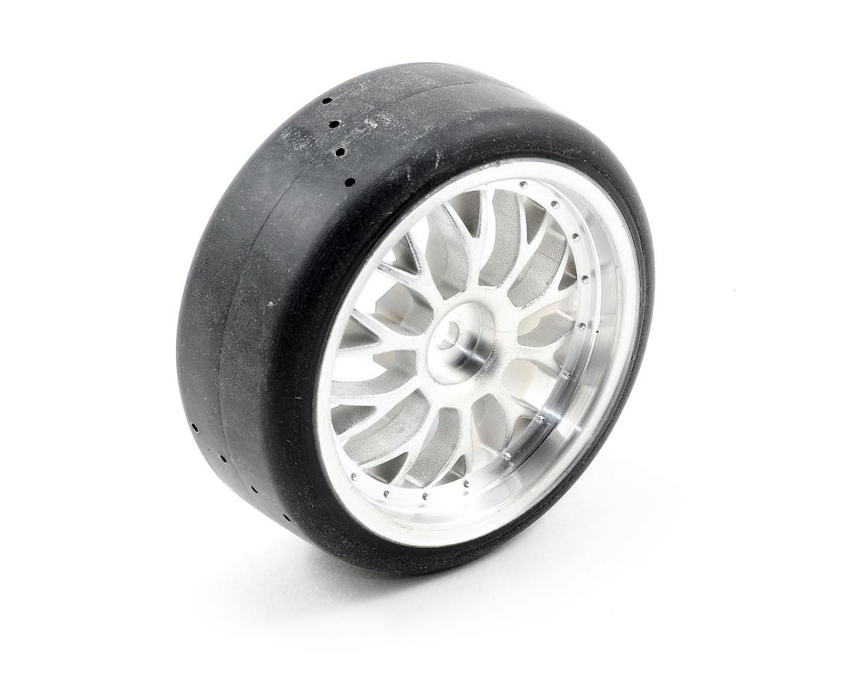 Tires, Glued (Nitro 4-Tec (4) by Traxxas
