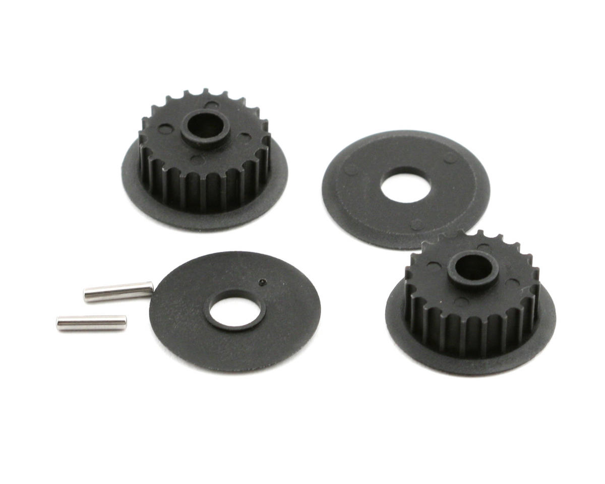 Middle Pulley Set (20 Groove) (Nitro 4-Tec) by Traxxas