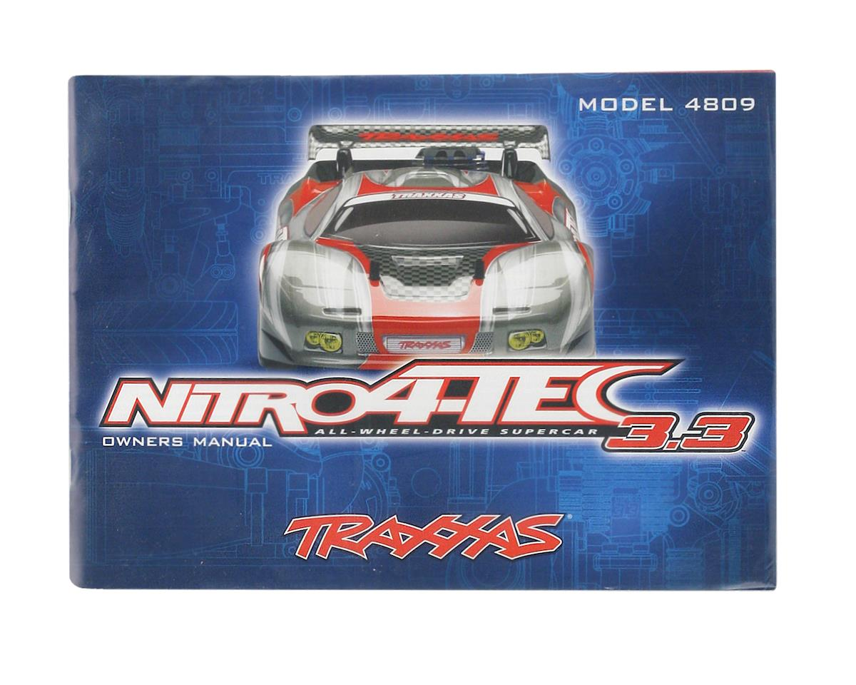 Traxxas Owners Manual (Nitro 4-Tec 3.3)