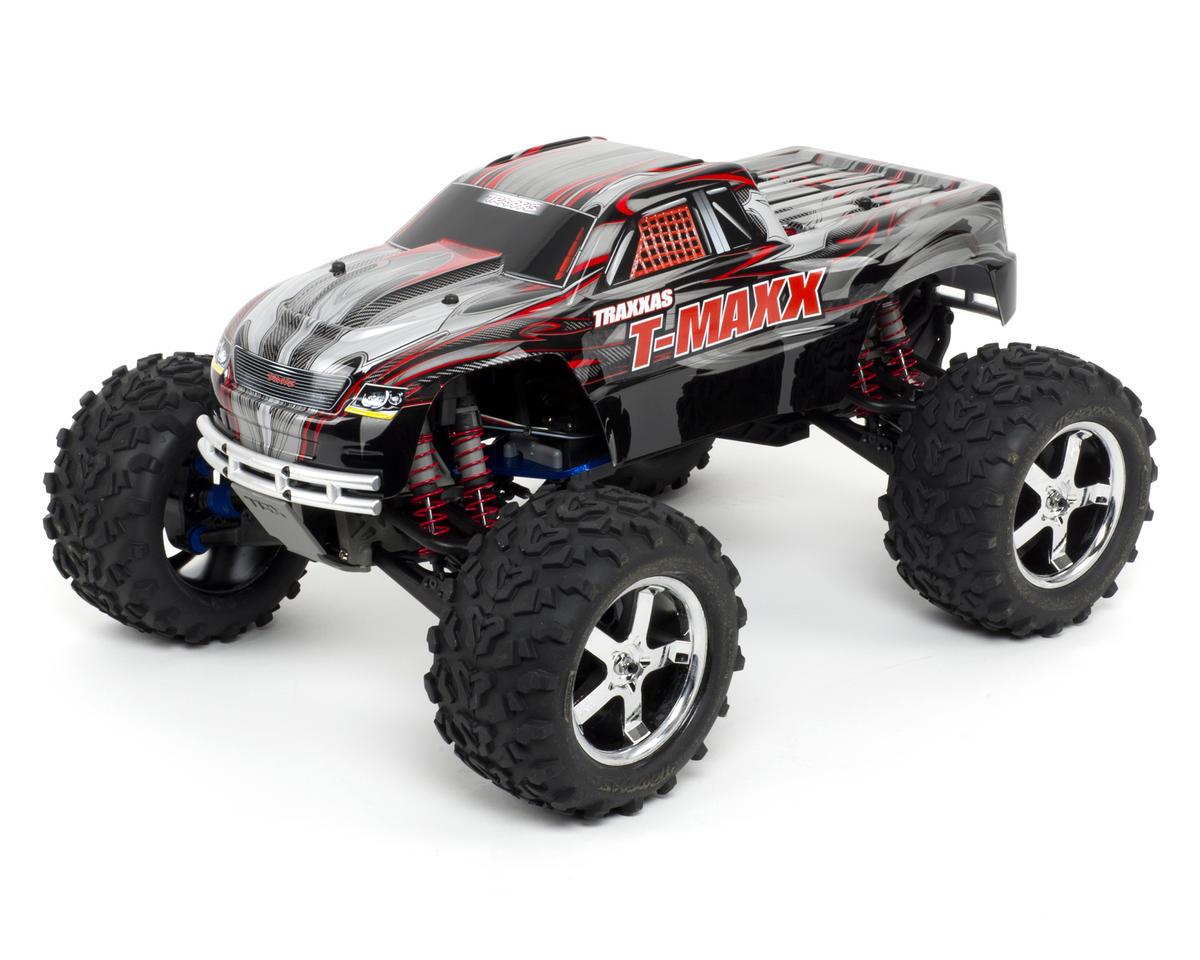 Traxxas T-Maxx 3.3 4WD RTR Nitro Monster Truck (Forward Only) w/TQi, Docking Bas