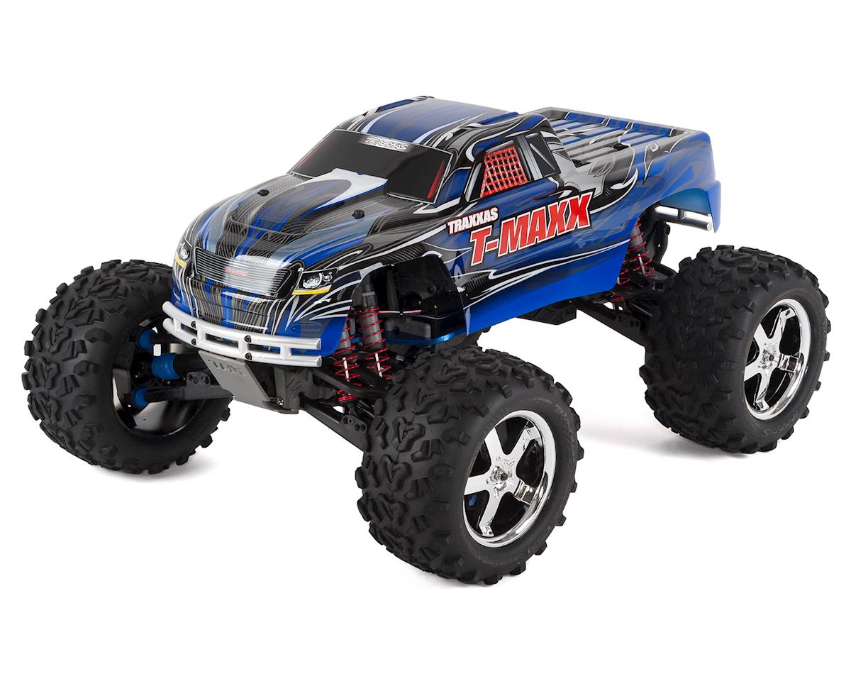 Traxxas T-Maxx 3.3 4WD RTR Nitro Monster Truck (Blue)