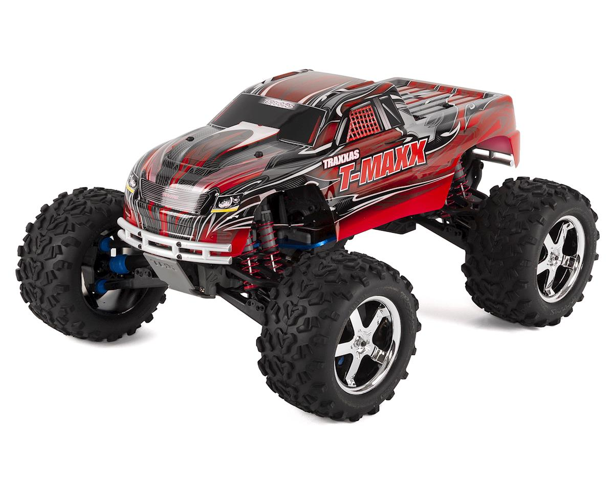 T-Maxx 3.3 4WD RTR Nitro Monster Truck (Red) by Traxxas