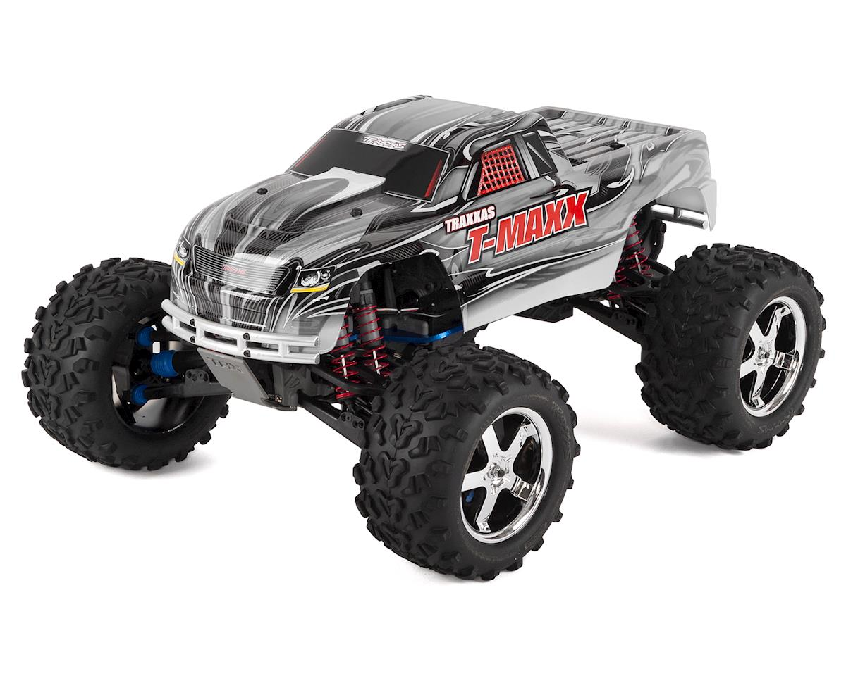 T-Maxx 3.3 4WD RTR Nitro Monster Truck (White) by Traxxas
