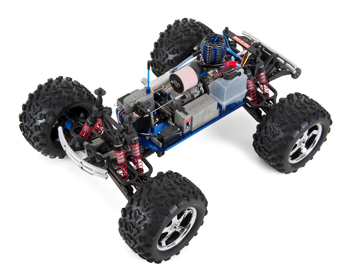 traxxas t-maxx 3 3 4wd rtr nitro monster truck (white) [tra49077-3-wht] |  cars & trucks - amain hobbies