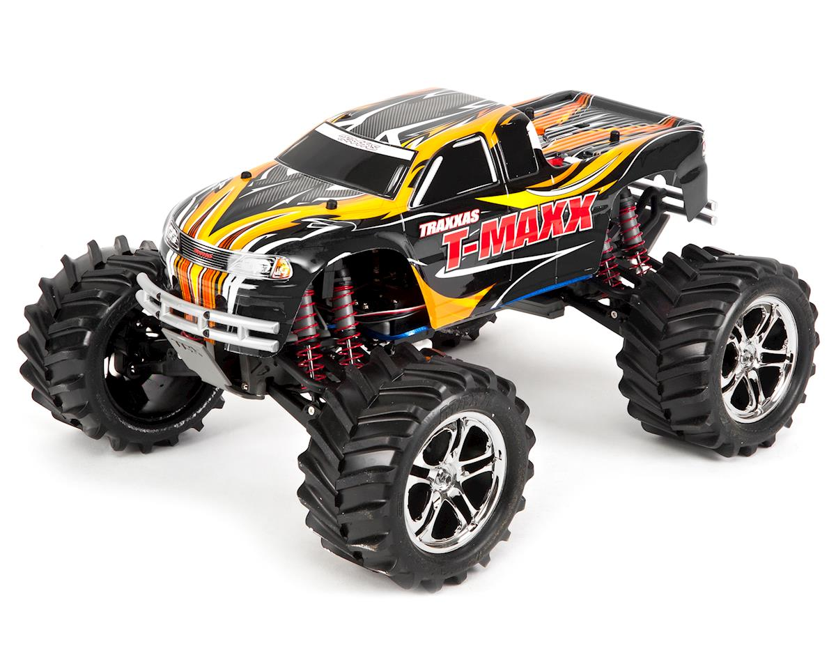 T-Maxx Classic RTR Monster Truck (Black) by Traxxas