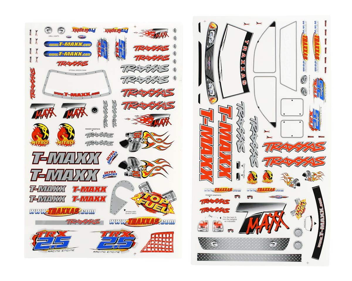 Traxxas T-Maxx Decal Sheet (TMX .15, 2.5)