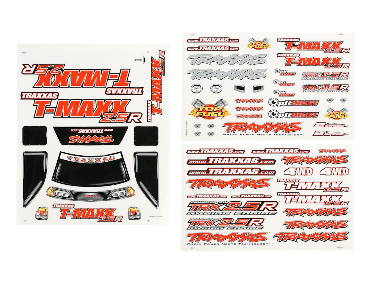 Traxxas T-Maxx 2.5R Decal Sheet