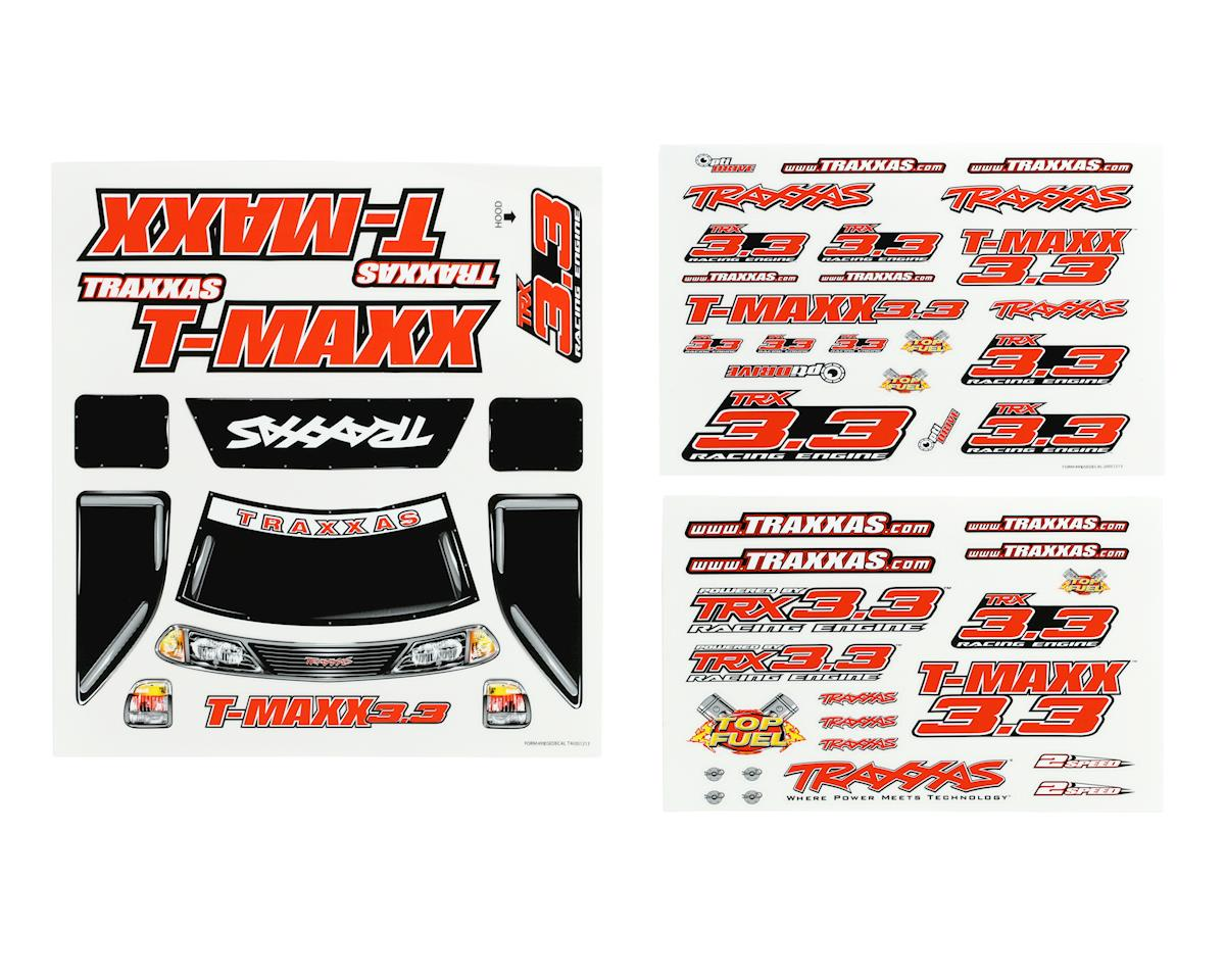 T-Maxx 3.3 Decal Sheet by Traxxas