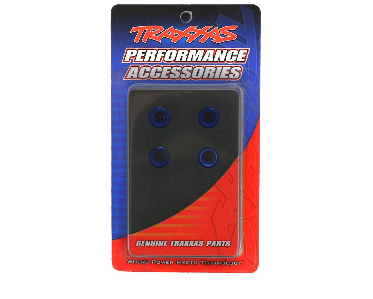 Traxxas Aluminum Pivot Ball Cap (Blue) (4) (EMX,TMX.15,2.5)