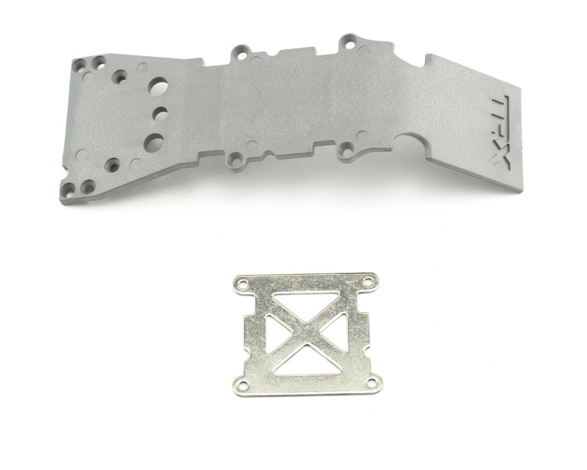 Front Skidplate (Grey) (TMX, TMX 3.3) by Traxxas