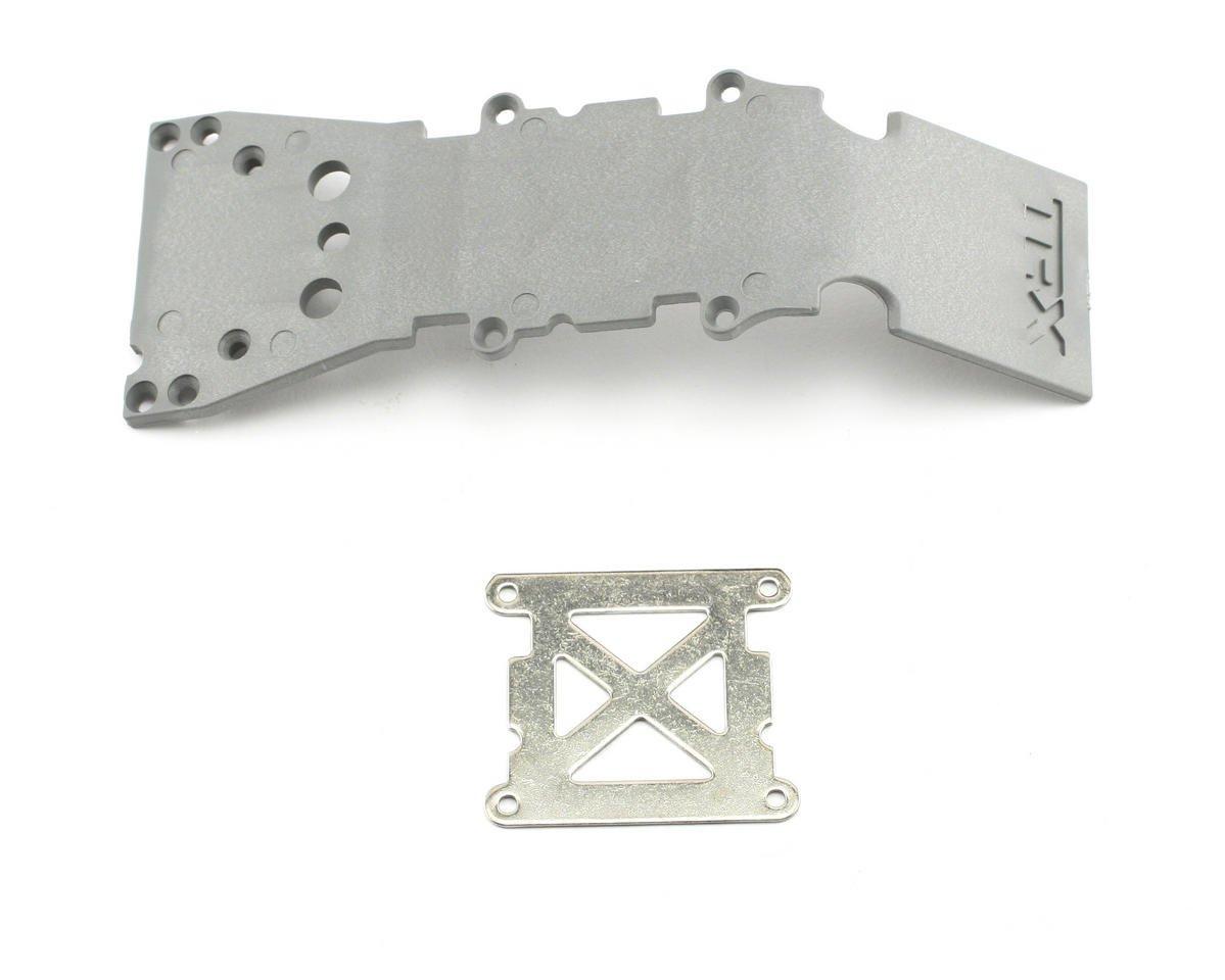 Traxxas S-Maxx Front Skidplate (Grey) (TMX, TMX 3.3)