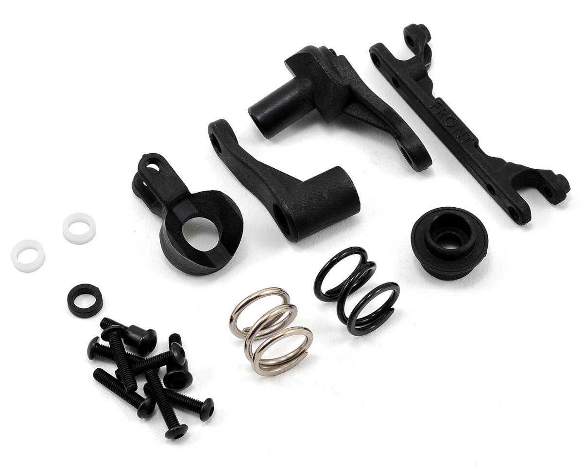 traxxas t-maxx e-maxx steering bellcrank assembly body parts & interior rc  model vehicle parts