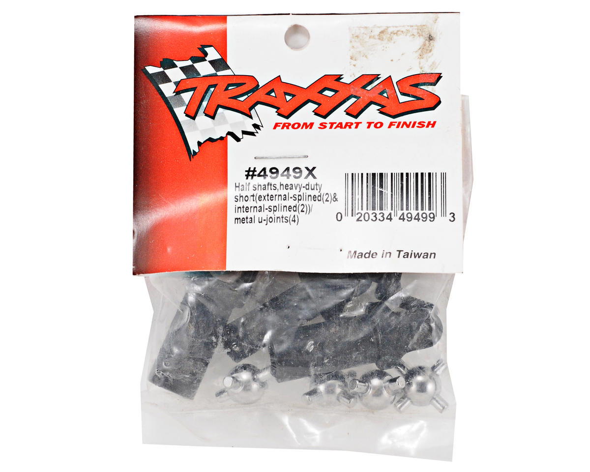 Traxxas Short Heavy-Duty Half-Shaft Set (2)