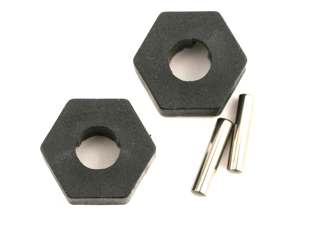 Image 1 for Traxxas Hex Wheel Hubs w/2.5x12mm Axle Pins (2)