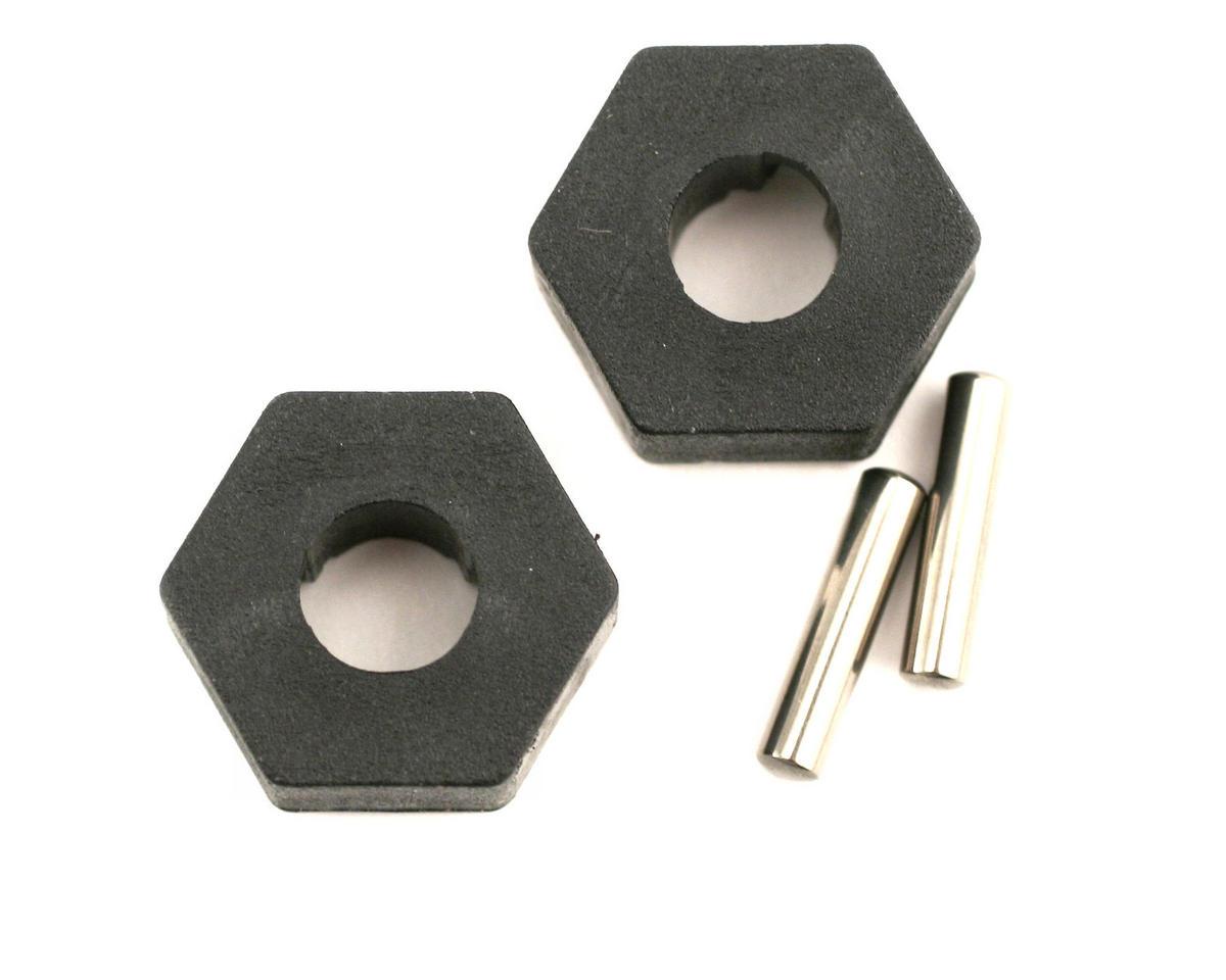 Hex Wheel Hubs w/2.5x12mm Axle Pins (2) by Traxxas
