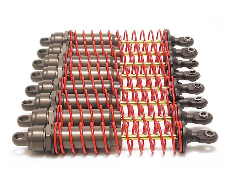Big Bore Shocks w/Springs (E-Maxx/T-Maxx/2.5) (8) by Traxxas