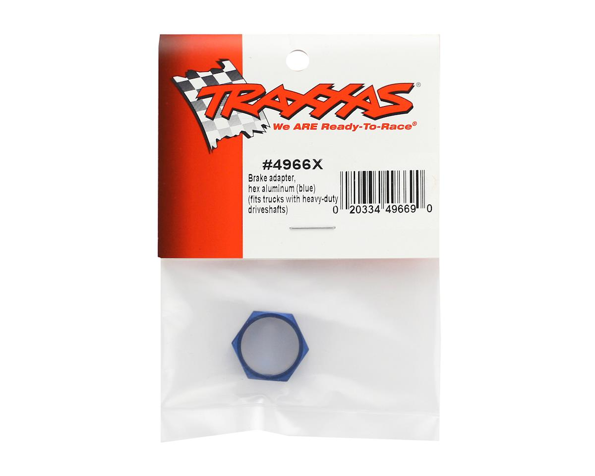 Traxxas Aluminum Hex Brake Adapter (Blue) (TMX .15, 2.5 & 3.3)