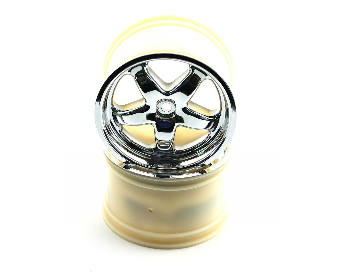 Traxxas Maxx Monster Truck Rims (2) (Chrome)
