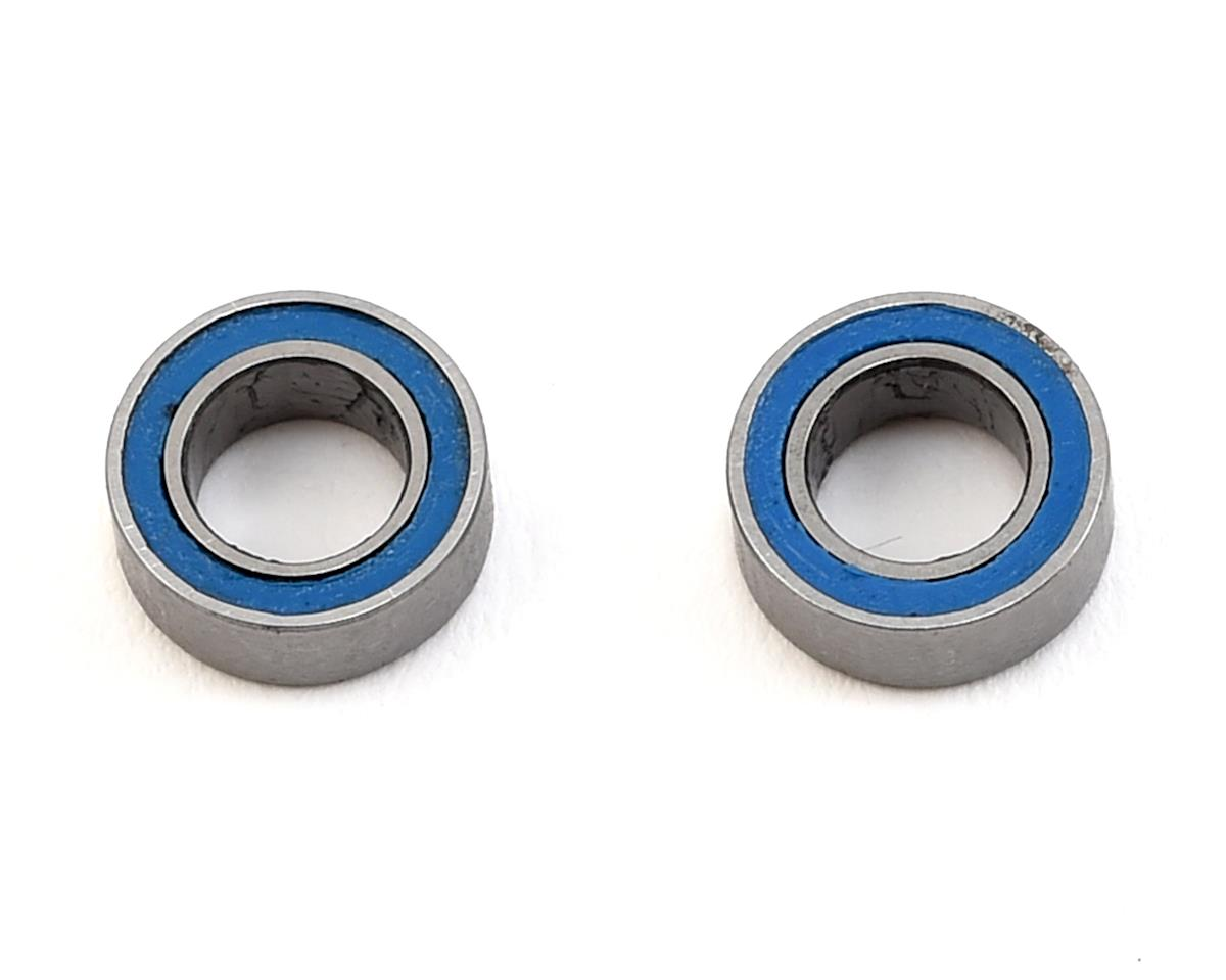 Traxxas 1/16 Mustang 4x7x2.5mm Blue Rubber Sealed Ball Bearing (2)