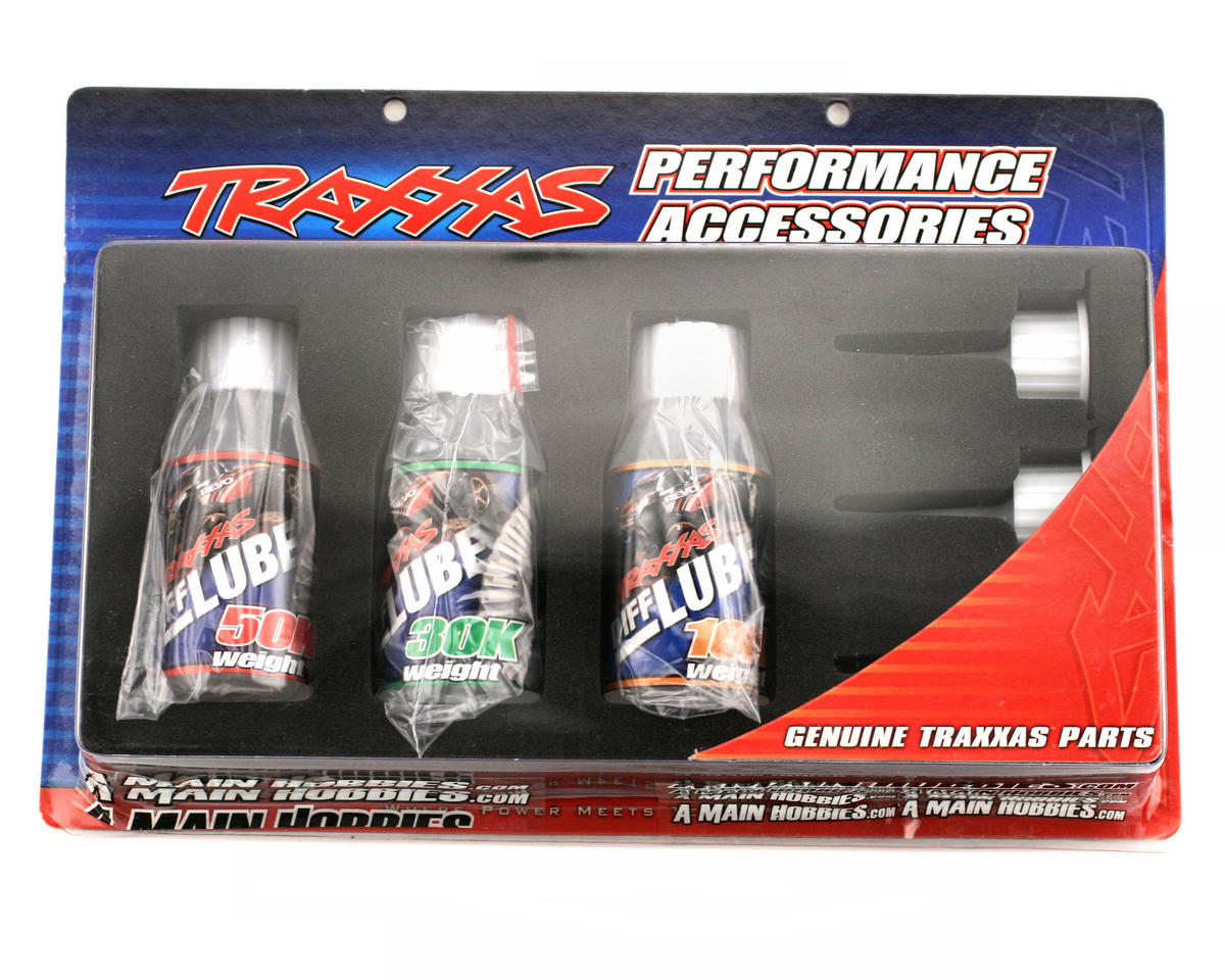 Traxxas Differential Oil Kit (10K, 30K, 50K)